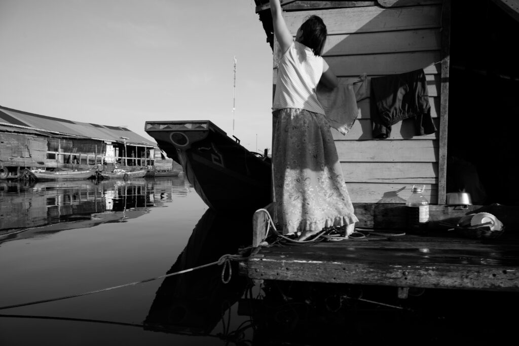 Steff Gruber Living on Water Cambodia